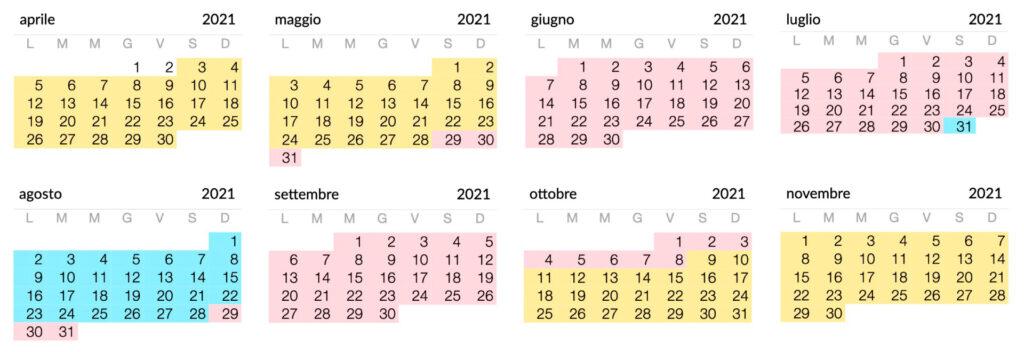 Nostro Calendario 2021